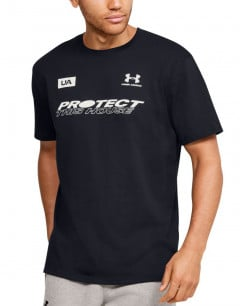 UNDER ARMOUR Protect This House Tee Black