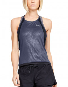 UNDER ARMOUR Qualifier Iso-Chill Tank Blue