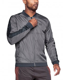 UNDER ARMOUR Sportstyle Wind Bomber Jacket Grey