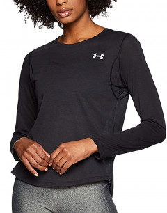 UNDER ARMOUR Streaker 2.0 Running Long Sleeve Shirt Black