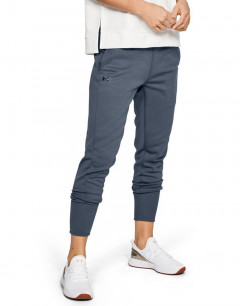 UNDER ARMOUR Synthetic Fleece Jogger Pants Grey