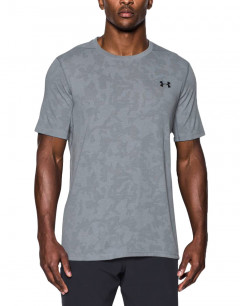 UNDER ARMOUR Threadborne Elite Fitted Tee Light Grey