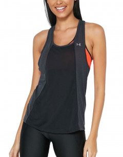 UNDER ARMOUR Threadborne Fusion Tank Black