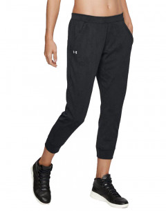 UNDER ARMOUR Vanish Mesh Loose Crop Pants Black