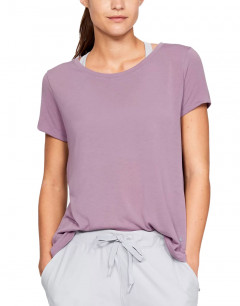 UNDER ARMOUR Whisperlight SS Foldover Tee Lilac