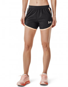 UNDER ARMOUR Fly-By 2.0 Shorts Black/Peach