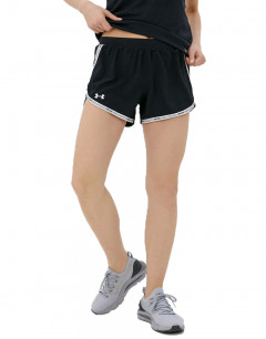 UNDER ARMOUR Fly-By 2.0 Shorts Black/White