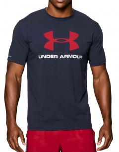 UNDER ARMOUR Sportstyle Logo Tee Dark Navy