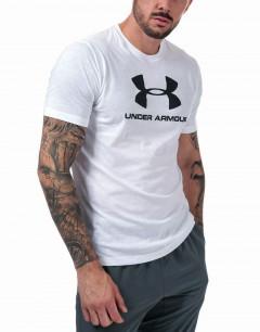 UNDER ARMOUR Sportstyle Logo Tee White