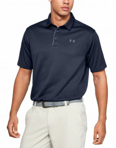 UNDER ARMOUR Tech Polo Navy