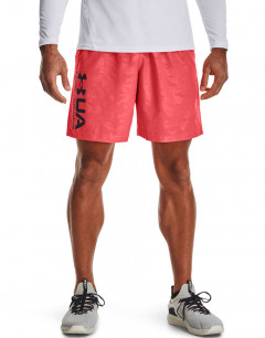 UNDER ARMOUR Woven Emboss Short Coral