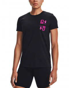 UNDER ARMOUR Armour Live Repeat Tee Black
