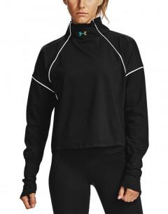 UNDER ARMOUR High Au Rush ColdGear 1/2 Zip Sweatshirt Black