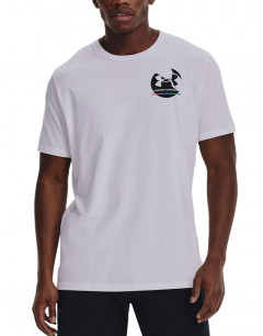 UNDER ARMOUR In Gym Tee White