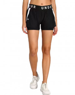 UNDER ARMOUR Play Up 2-in-1 Shorts Black