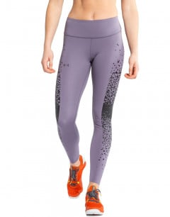 UNDER ARMOUR Rush No-Slip Waistband Leggings Purple