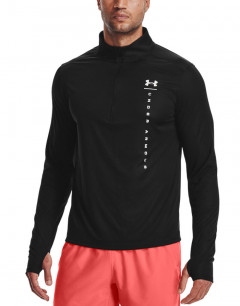UNDER ARMOUR Speed Stride Shock 1/2 Zip  Black