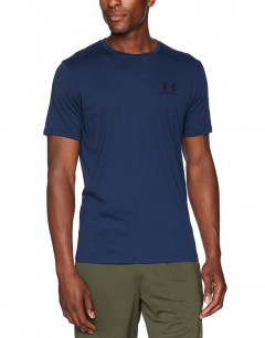 UNDER ARMOUR Sportstyle Left Chest Tee Navy