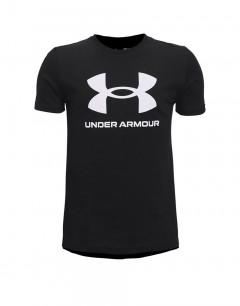 UNDER ARMOUR Sportstyle Logo Kids Tee Black