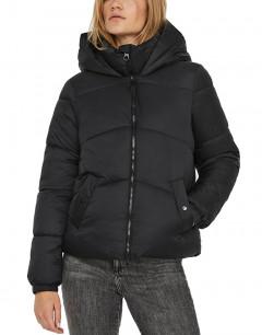 VERO MODA Hooded Padded Short Jacket Black