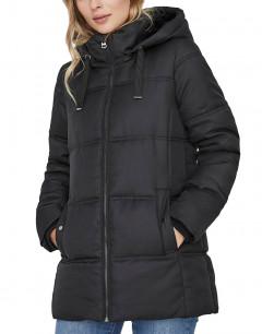 VERO MODA Hooded Puffer Jacket Black