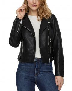 VERO MODA Short Coated Jacket Black