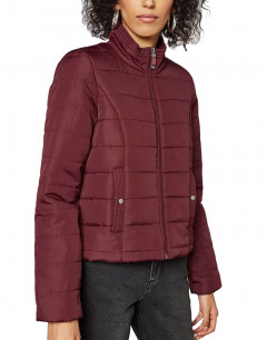 VERO MODA Simone Short Quilted Jacket Cabernet