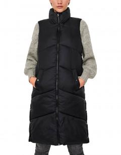 VERO MODA Uppsala Long Waistcoat Black