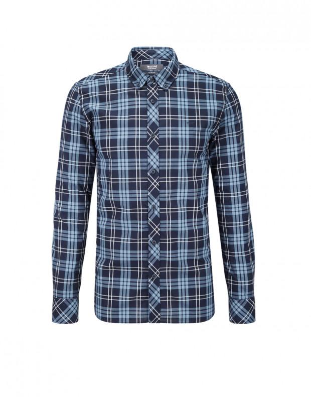 MUSTANG Square Shirt Blue