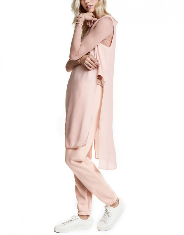H&M Crepe Tunic Pink
