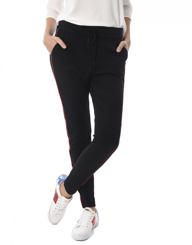 VERO MODA Eva Mr Loss String Pant Black