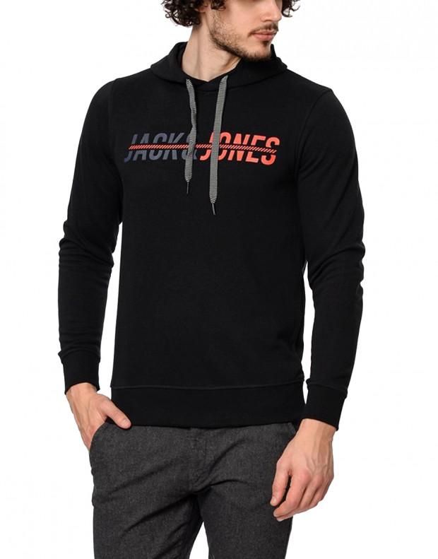 JACK&JONES Print Sweatshirt Black