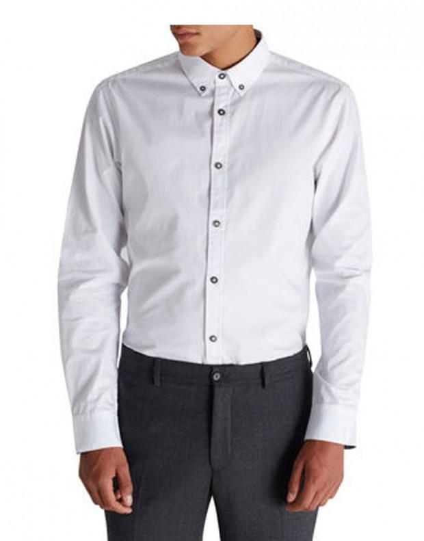 JACK&JONES Casual Shirt White