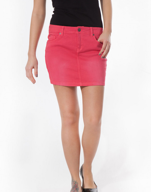 SUBLEVEL Minirock Skirt Orange