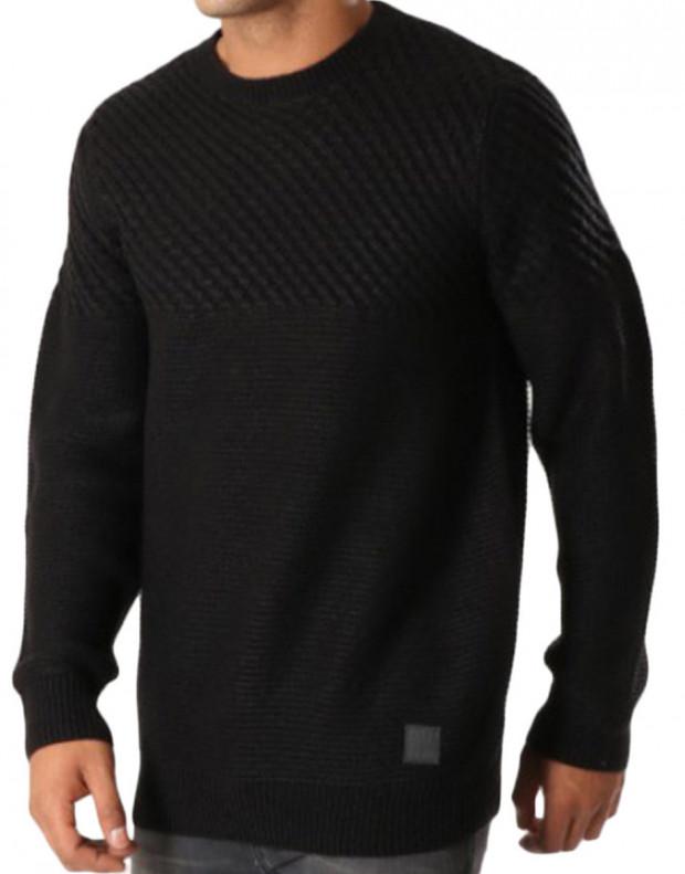 MZGZ Seldom Pullover Black