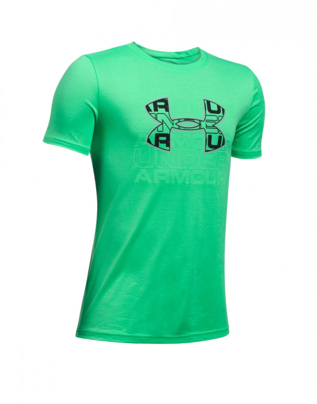 UNDER ARMOUR Infusion Logo Tee Green