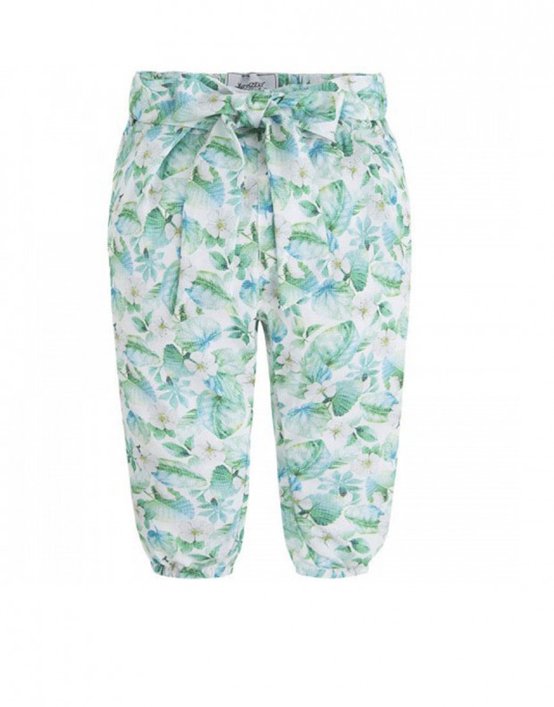 MAYORAL Flower Summer Pant Green
