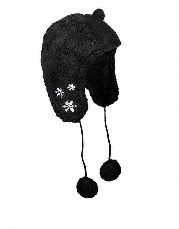 SUBLEVEL Ear Hat Black