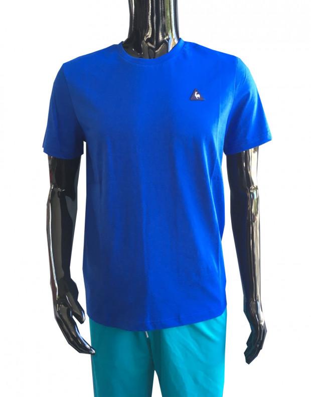 LE COQ SPORTIF Cotton Logo Tee Blue