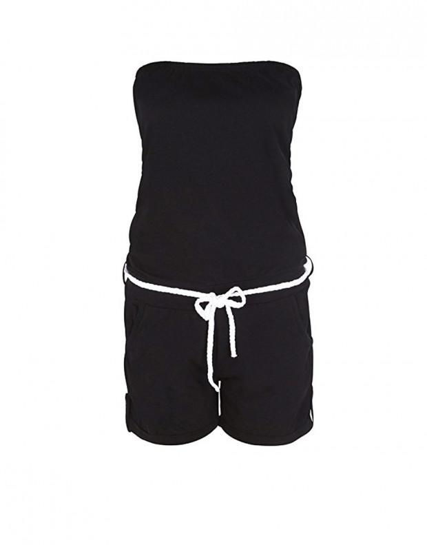 STITCH&SOUL Black Allover Jumpsuit
