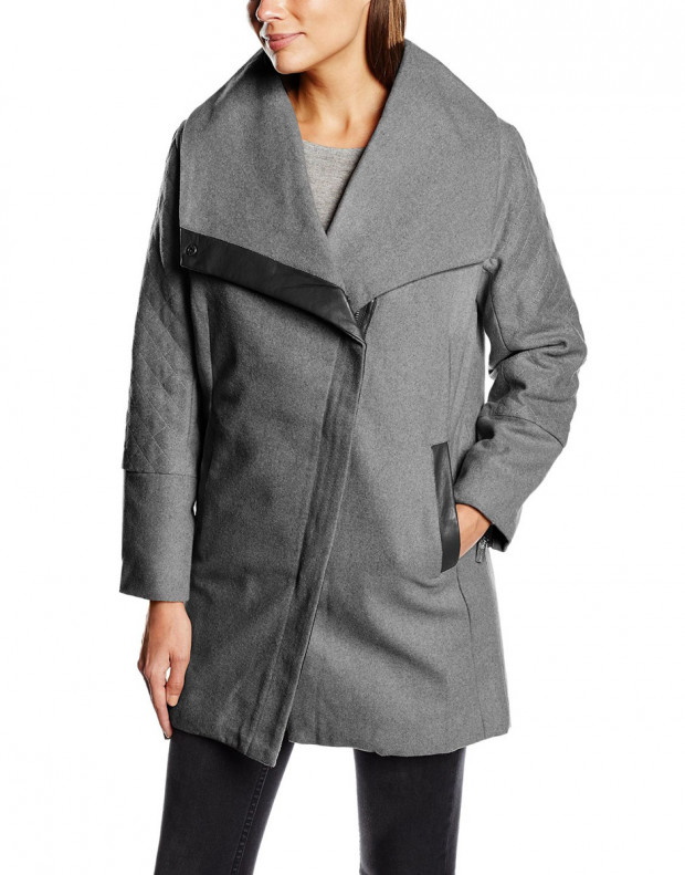 SUBLEVEL Fabiana Coat Grey