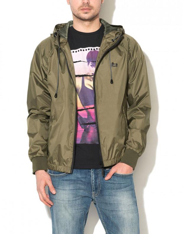 BLEND Basic Hooded Jacket Green