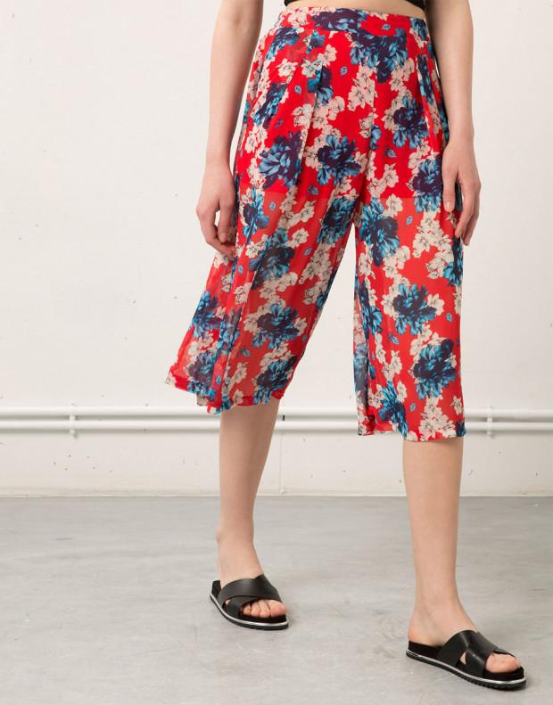 BERSHKA Flower Pant