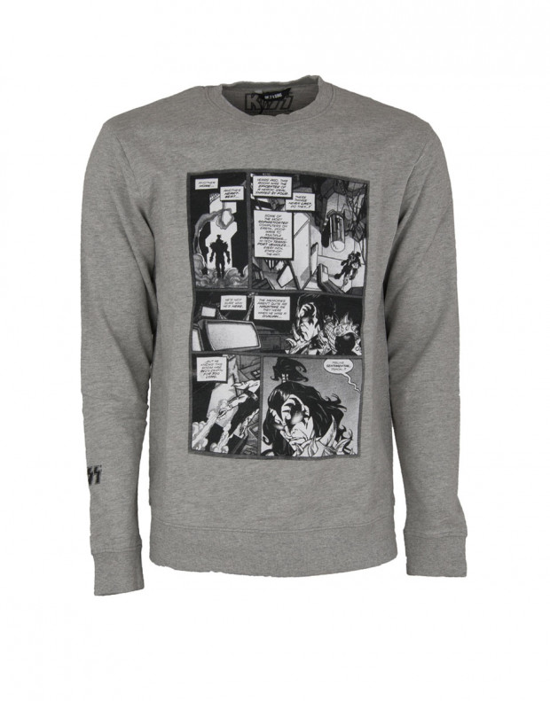 ONLY&SONS Kiss Printed Sweatshirt Grey