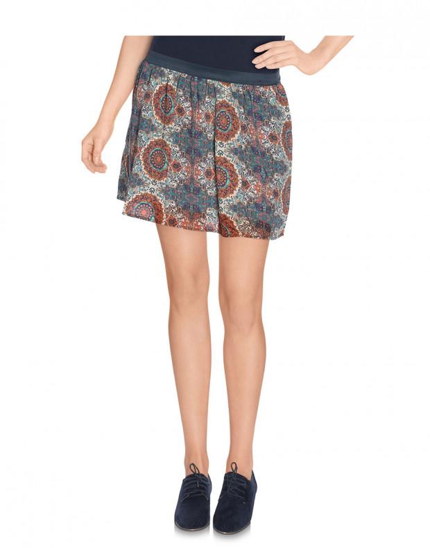 VERO MODA Cream Ethno Print Skirt