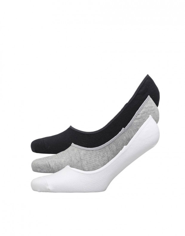 ADIDAS 3 Pack Perfomance Invisible Socks BWG Mens