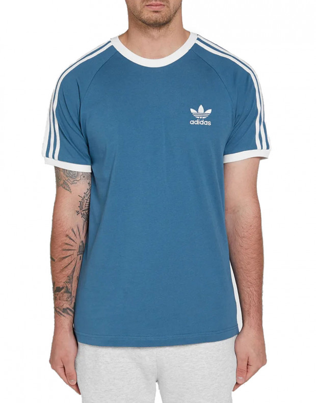 ADIDAS 3-Stripes Tee Blue