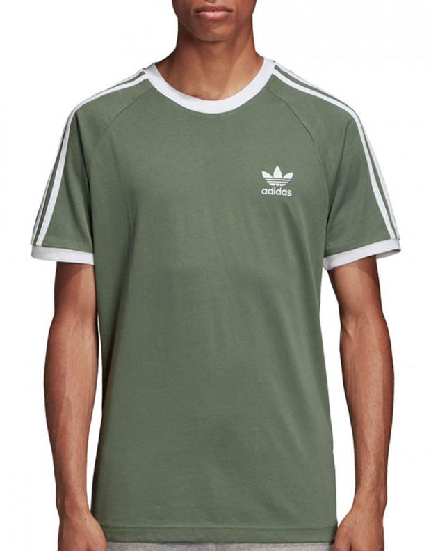 ADIDAS 3-Stripes Tee Green