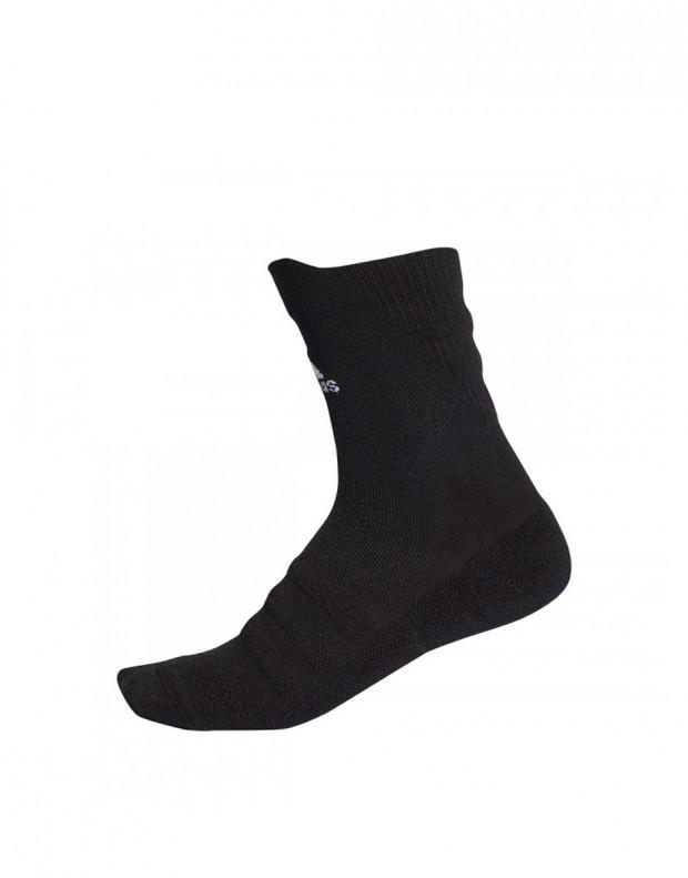 ADIDAS Alphaskin Cushioning Crew Sock Black