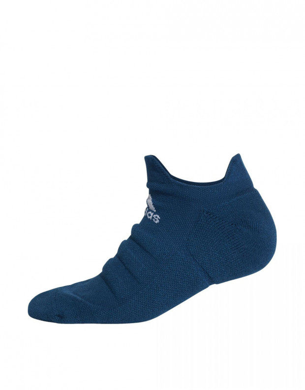 ADIDAS Alphaskin Lightweight Cushioning Socks Navy